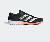 Adidas ADIZERO RC 2.0男款黑橘色慢跑鞋-NO.EE4337