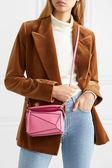 ■專櫃8折■2019新品 ■全新真品Loewe 羅威 迷你 Puzzle 兩用肩背包  粉色