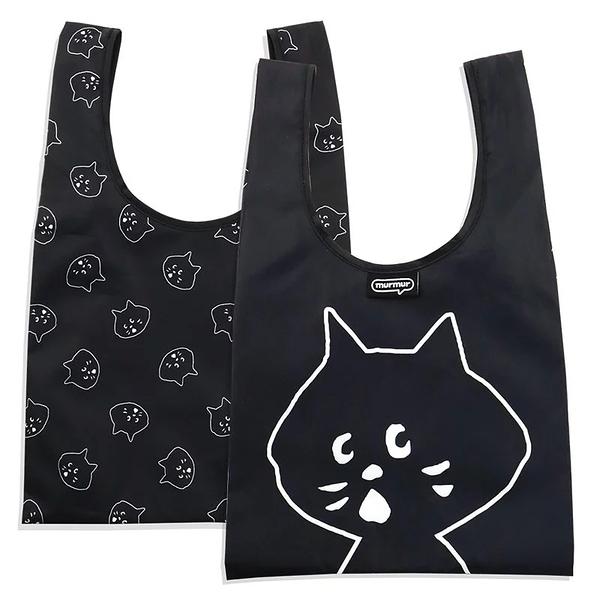 ﹝三代﹞murmur NYA大頭 便當袋 購物袋 手提袋 隨身購物袋 小購物袋 飲料袋