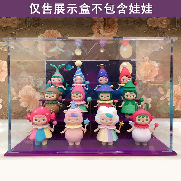 POPMART PUCKY畢奇精靈森林聖誕系列展示盒亞克力模型盒 mks宜品