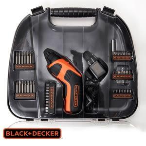 BLACK+DECKER 3.6V 可換頭鋰電起子機 45件組 型號A71452