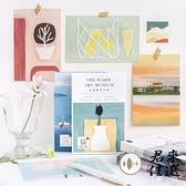 買2送1 明信片風景城市手繪古風卡片創意生日賀卡留言卡片【君來佳選】