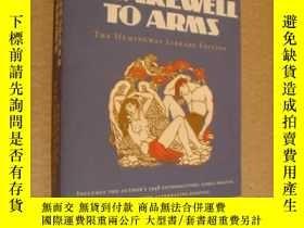 二手書博民逛書店A罕見Farewell to Arms《別了武器》海明威最經典長