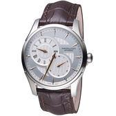 Hamilton漢米爾頓時間玩家Jazzmaster Regulateur系列倒蘆型機械腕錶   H42615551