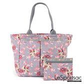 LeSportsac - Standard大手提水餃包-附化妝包(吉普賽玫瑰)7891P E339