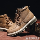2020春季新款高幫馬丁靴男中幫工裝靴英倫風潮鞋韓版皮靴冬季加絨『歐尼曼家具館』
