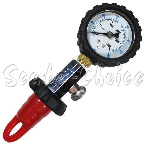潛水 氣瓶量壓錶(DIN)  浮潛 深潛