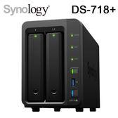 Synology 群暉科技 DS718+ 2Bay NAS 網路儲存伺服器
