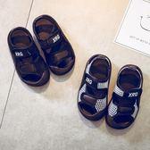 男童涼鞋2018新款韓版夏季男沙灘鞋小孩軟底童鞋潮中大童兒童涼鞋 森活雜貨