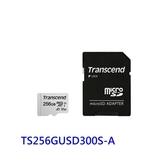 創見 手機用記憶卡 【TS256GUSD300S-A】 300S 256GB Micro-SD U3 A1 新風尚潮流
