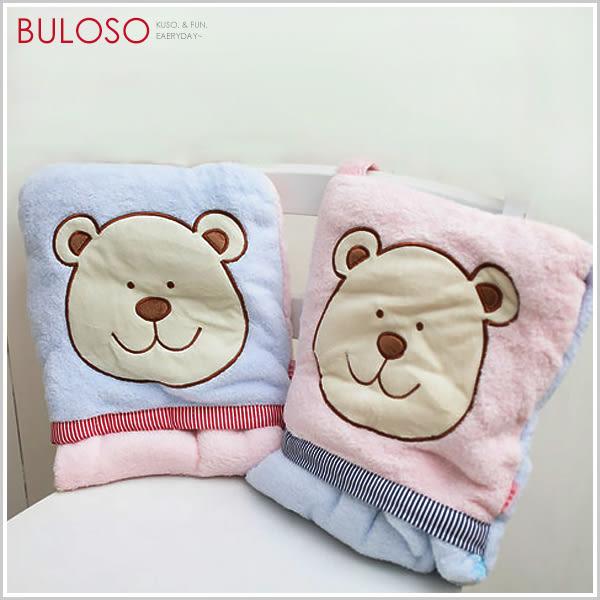 《不囉唆》宅人披肩2色熊熊頭保溫毯 保暖披肩/冷氣毯/披風/毛毯(不挑色/款)【A227834】