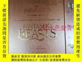 二手書博民逛書店訂購罕見神奇動物在哪裏 1 探索電影魔法設定集 英版The Ca