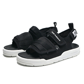NEW BALANCE 涼鞋 黑色 魔鬼氈 輕量 休閒 男女 (布魯克林) SDL3206B