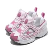 Reebok 慢跑鞋 Fury INF 白 粉紅 童鞋 小童鞋 襪套式 運動鞋【ACS】 FV4504