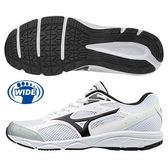 美津濃  MIZUNO  慢跑鞋  MAXIMIZER 20 (白/黑)一般型寬楦鞋款 K1GA180010【 胖媛的店 】