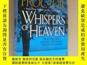 二手書博民逛書店WHISPERS罕見OF HEAVEN 《天堂私語》英文原版Y8