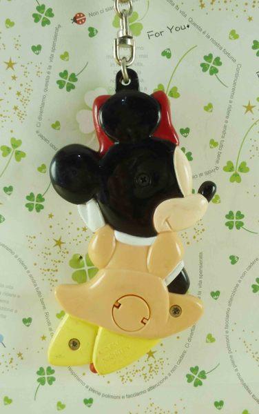 【震撼精品百貨】Micky Mouse_米奇/米妮 ~鑰匙圈-米妮側坐