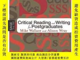 二手書博民逛書店Critical罕見Reading And Writing For PostgraduatesY256260
