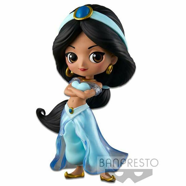 迪士尼 Q POSKET 茉莉公主B 蠟筆色_BD35910