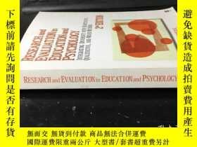 二手書博民逛書店Research罕見and Evaluation in Educ