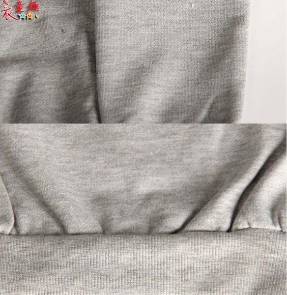 衣童趣(•‿•)韓版 超可愛微笑貓頭鷹 時尚字母 洞洞T恤 長袖上衣小童裝 【特價清倉現貨】