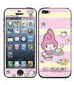美樂蒂 彩繪貼-  iPhone 5s 5 iPhone SE  螢幕貼+背蓋貼 102
