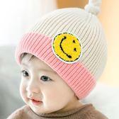 嬰兒帽  新生兒帽子寶寶帽子毛線帽0-12個月嬰兒帽子毛線童帽  瑪奇哈朵