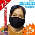 大人《三層不織布口罩》符合疾管署建議材質製作_顏色隨機_台灣製造#布面口罩#口罩套#防塵口罩