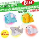 現貨 日本代購 Cable Bite BIG 大嘴巴 豆腐頭 iPhone 傳輸線 充電線 防斷保護套 防護套 獅子 鯊魚 老鼠