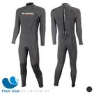 AROPEC 1mm 男款AQUATHERMAL 刷毛防寒衣 Penguin 潛水員衣 防水透氣 防寒衣