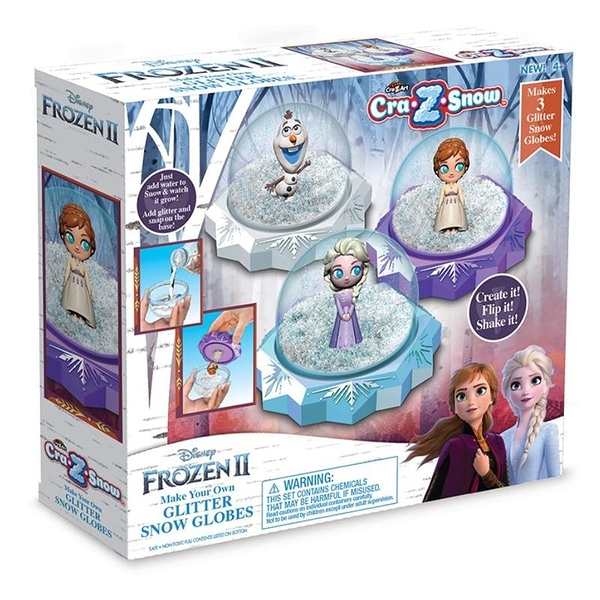 迪士尼 冰雪奇緣2 創意閃光雪球