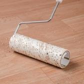 粘毛器地板粘毛器可撕式伸縮桿粘塵紙清潔衣服毛發滾刷滾筒氈黏沾毛神器