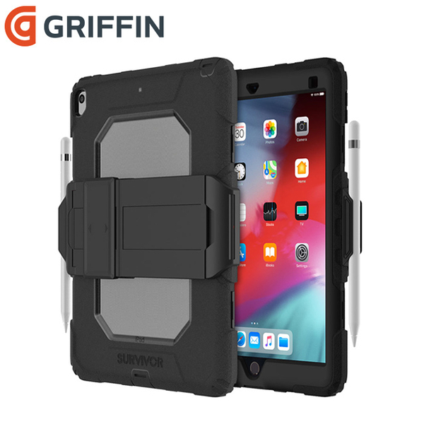 Griffin Survivor All-Terrain iPad Air 10.5吋/Pro 10.5吋 軍規三層防護保護套組