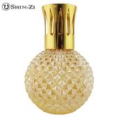 (圓鑽(中)-金黃) 大玻璃瓶 香薰瓶 薰香瓶 精油瓶