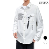 CPMAX 韓系印花襯衫外套 嘻哈塗鴉襯衫 男長袖襯衫 襯衫外套 男襯衫 帥氣襯衫 印花襯衫 B57