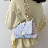 斜挎包 菱格鏈條包包2021新款時尚夏季女包高級感洋氣單肩斜挎包百搭ins