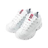 SKECHERS ENERGY 綁帶運動鞋 白 2250WML 女鞋 休閒