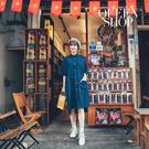 Queen Shop【01084890】基本百搭休閒雙層口袋造型牛仔洋裝*現+預*