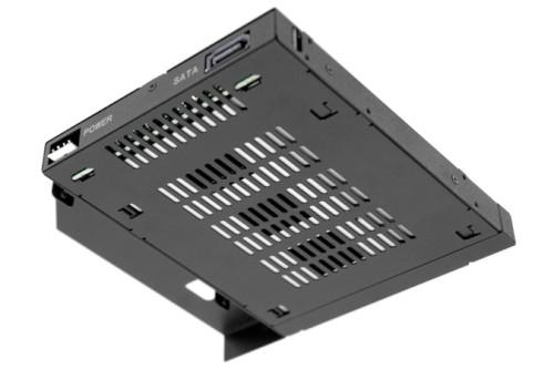 "ICY DOCK ToughArmor 2.5"" SATA/SAS HDD/SSD 一薄型軟/光碟機 裝置空間 硬碟抽取盒 MB411SPO-B (12.7mm)"