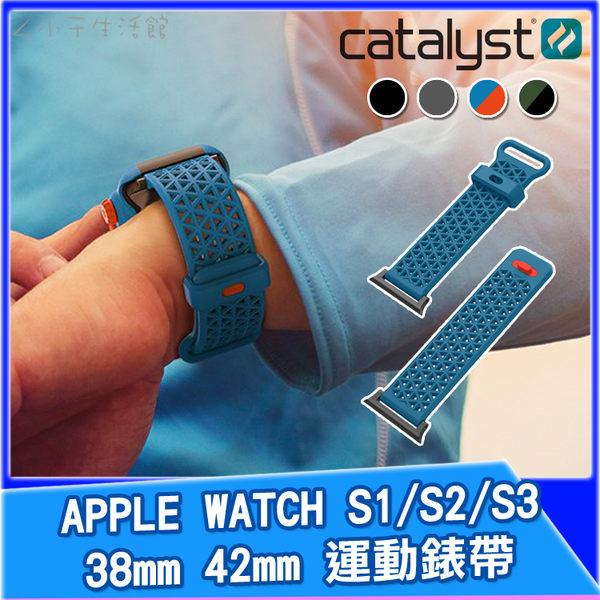 CATALYST APPLE WATCH S1/S2/S3 運動錶帶 38mm 42mm AppleWatch裸機錶帶