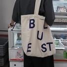 帆布包 重磅定制店主設計款復古純棉包帆布袋
