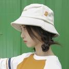 夏季漁夫帽女日系小清新韓版百搭遮陽盆帽顯臉小防曬可愛帽子  【端午節特惠】