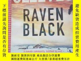 二手書博民逛書店ANN罕見CLEEVES RAVEN BLACKY209021