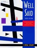 二手書博民逛書店《Well Said: Pronunciation for Clear Communication》 R2Y ISBN:9781424006250