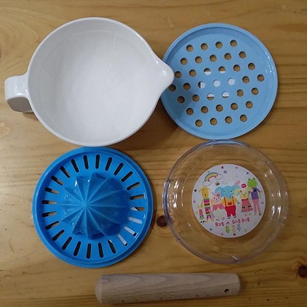 RUB A DUB 離乳食調理器 藍