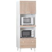 櫥櫃 餐櫃 AM-189-1 小北歐2X6尺高收納櫃【大眾家居舘】