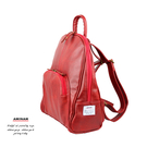 紅色典雅後背包  AMINAH~【am-0299】