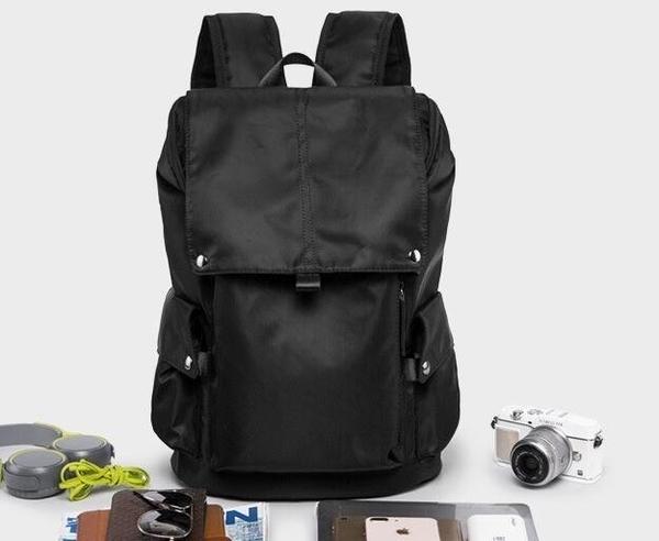 FINDSENSE品牌 韓國 新款  FIN韓國出品 包款 時尚 男士雙肩包 簡約 背包 大容量旅行  潮流
