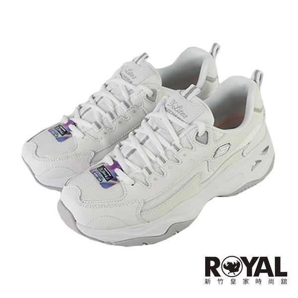 Skechers D'LITES 4.0 白色 透氣 厚底 休閒鞋 女款 NO.J0830【新竹皇家 149491WHT】
