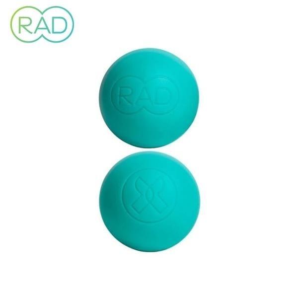【南紡購物中心】RAD Recovery Round 瑜珈舒緩按摩球 2入 瑜珈球 肌筋膜放鬆